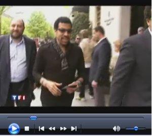 13 avril 2009 : TF1 Journal de 20h : interview de Lionel Richie.